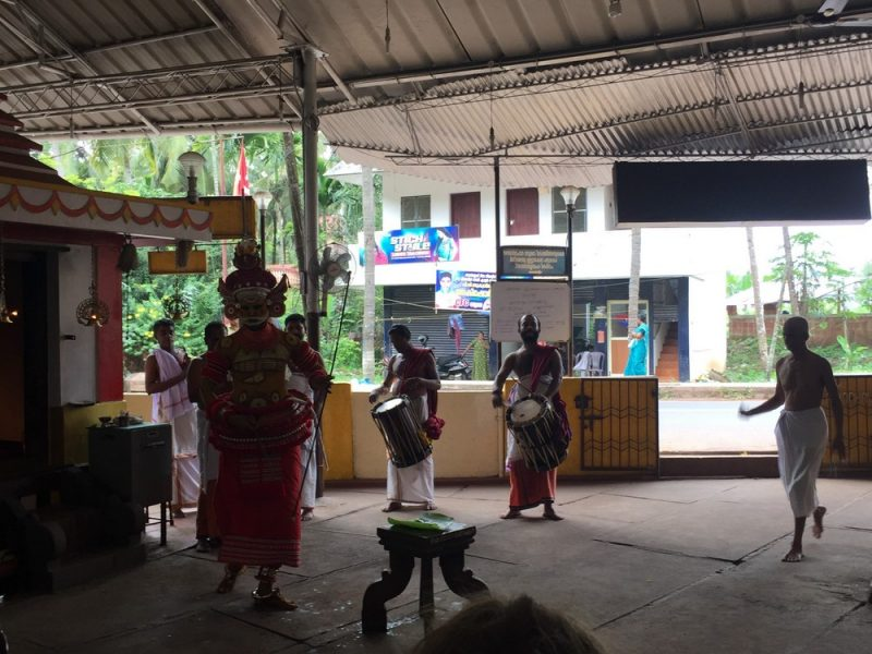 Theyyam performance in Kannur, Kerala