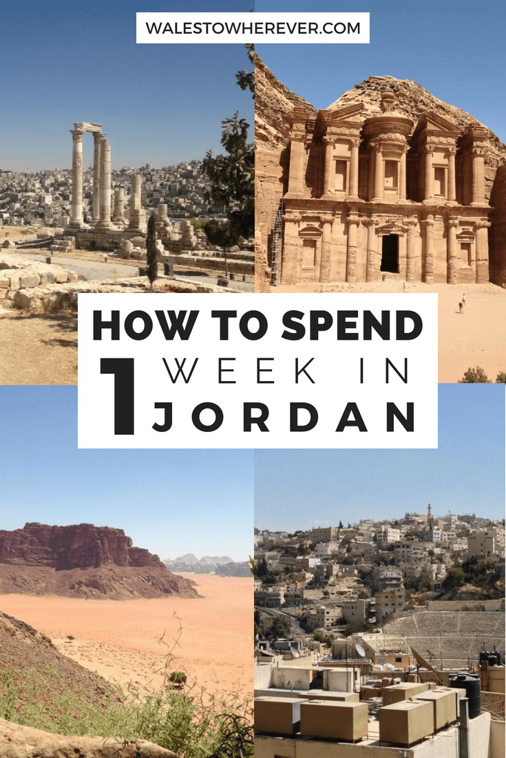 Planning a trip to Jordan and not sure where to start? This article will tell you all the best things to do in Jordan if you just have one week - including Petra, Jerash and Wadi Rum! #Jordan #Petra #JordanTravelGuide
