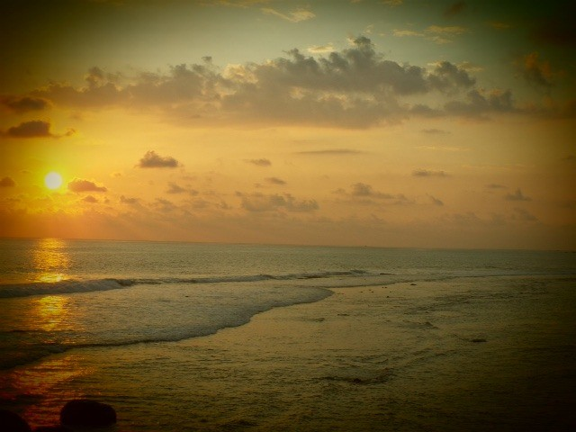 Sunset over Galle Fort