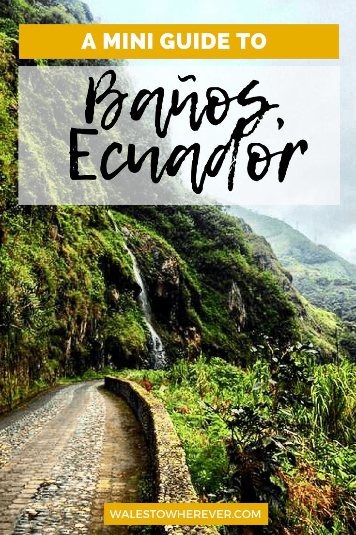 The adventure capital of Ecuador, Baños is a must for any South America itinerary! This guide will tell you all you need to know about how to get there, where to stay and what to do...all on a tight budget! #Ecuador #Baños #SouthAmerica