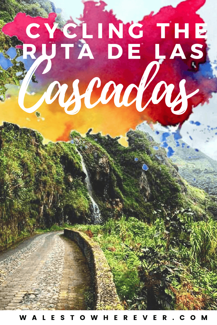 Cycling the Ruta de las Cascadas: One of the Most Exciting (and totally not death-defying) Activities in Baños, Ecuador - Are you looking for breathtaking views, beautiful scenery and a little bit (but not too much) of adventure in Baños, Ecuador? Cycling the Ruta de las Cascadas gives you all of that and more - and the best part is it's totally budget friendly! This guide will tell you everything you need to know. #Ecuador #VisitEcuador #BañosdeAguaSanta   Baños on a Budget   Cycling in South America   What to do in Ecuador   What to do in Baños   Adventure sports in Ecuador