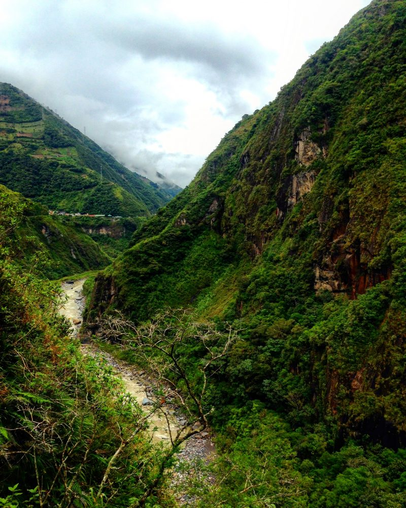 One of the very many jaw-dropping views along the Ruta de las Cascadas