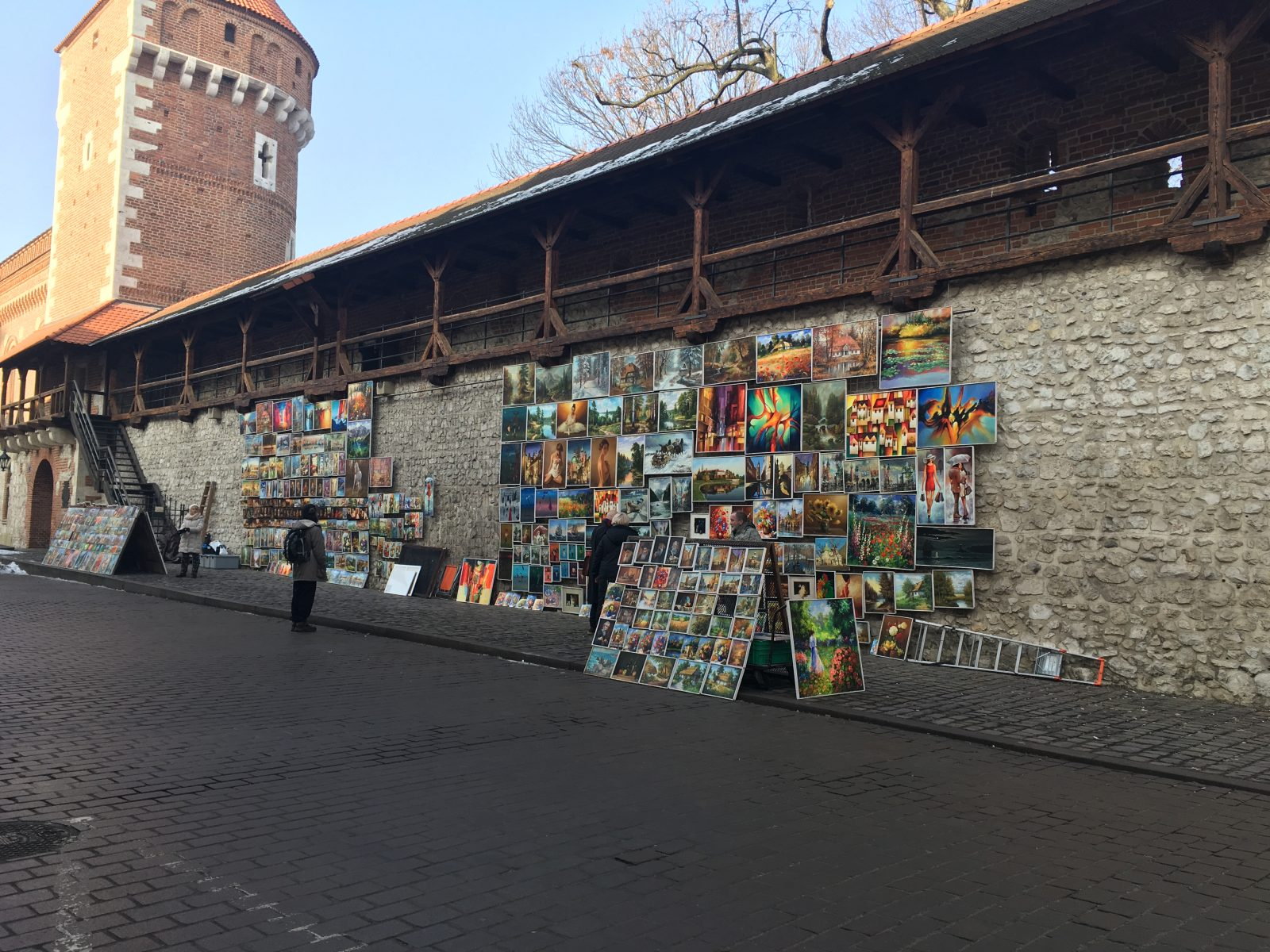 photo of street art in krakow