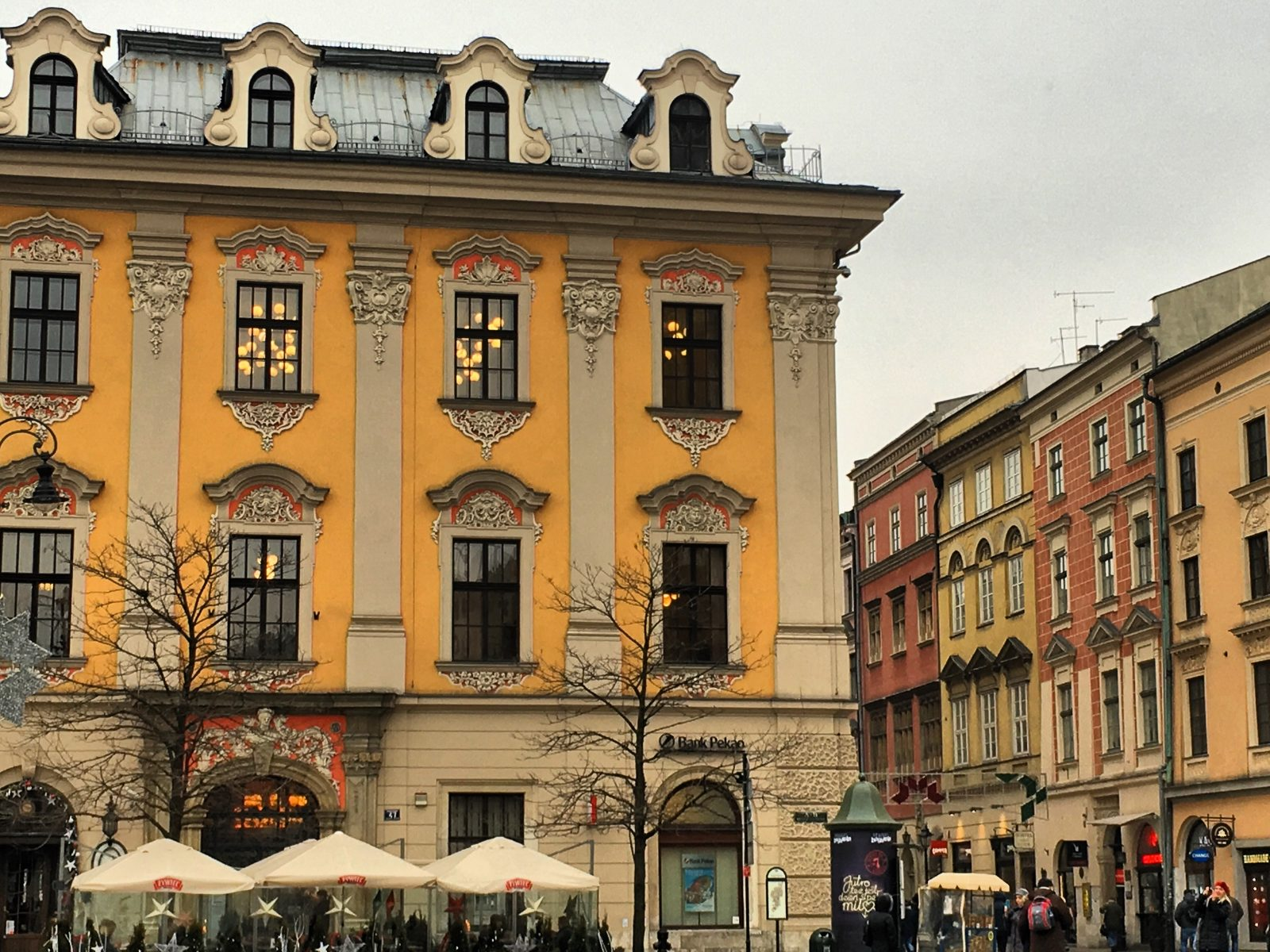 photo of building in main krakow square