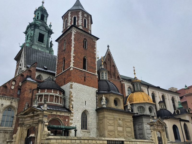 photo of wawel cathedral in krakow
