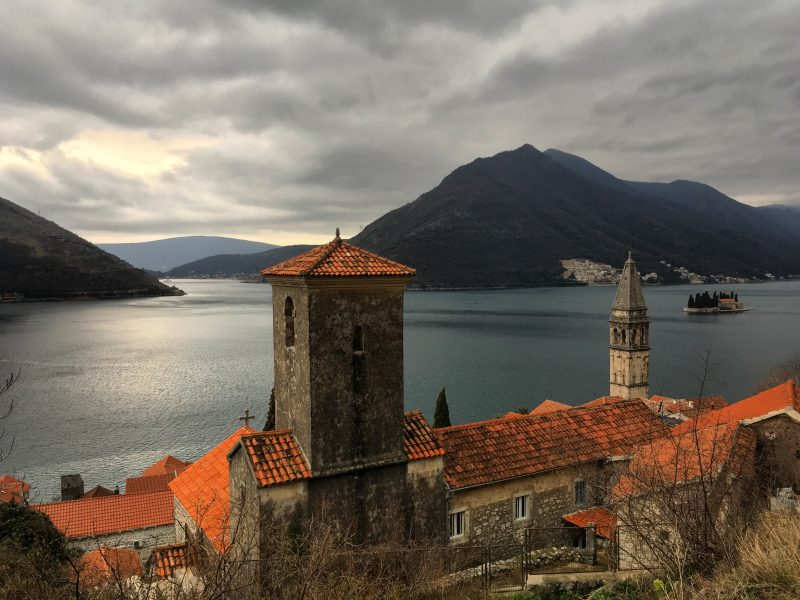view of perast
