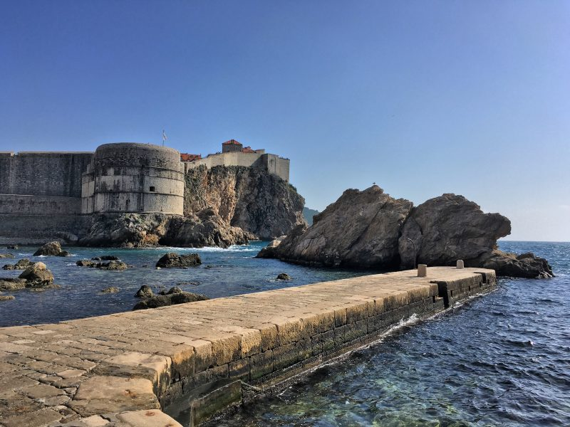 the view of Pile in Dubrovnik is that of Blackwater Bay from Game of Thrones