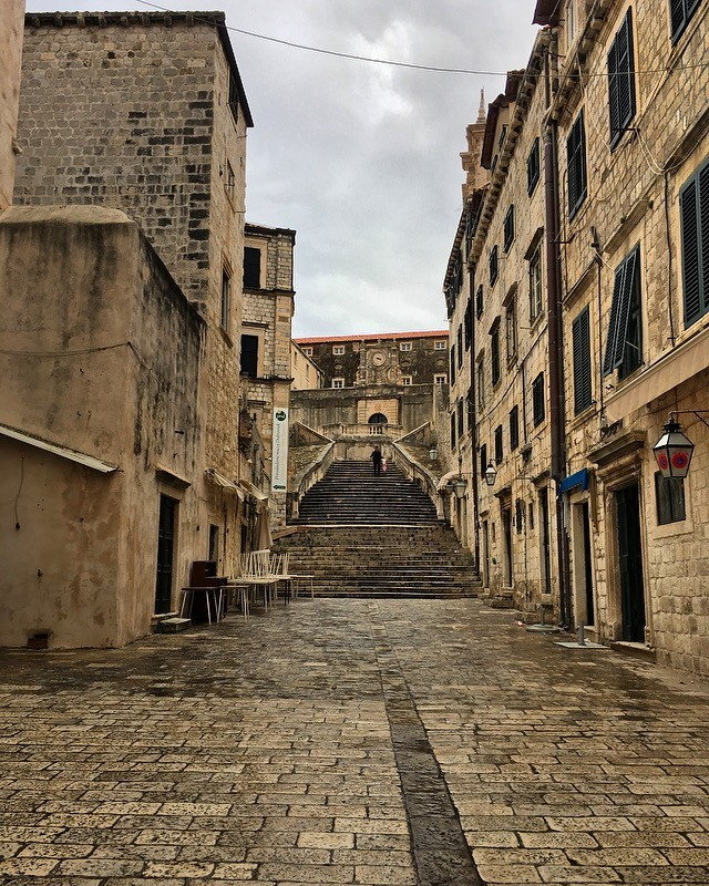 the steps where Cersei walked naked Steps of Shame Jesuit Steps in Dubrovnik Game of Thrones