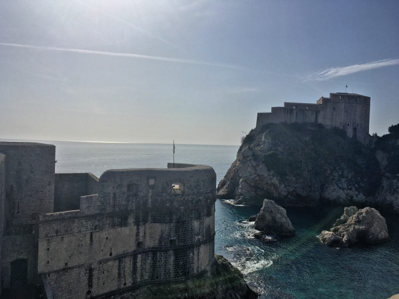 Bokar Fortress is a Game of Thrones filming location in Dubrovnik Croatia