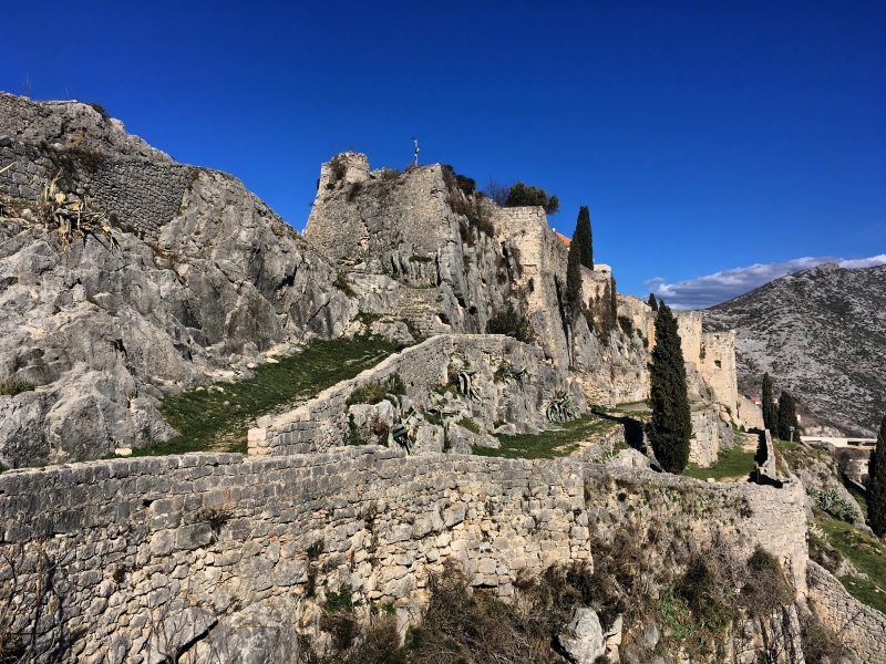 An ancient stronghold, Klis Fortress is more recognisable these days as Game of Thrones City of Meereen.