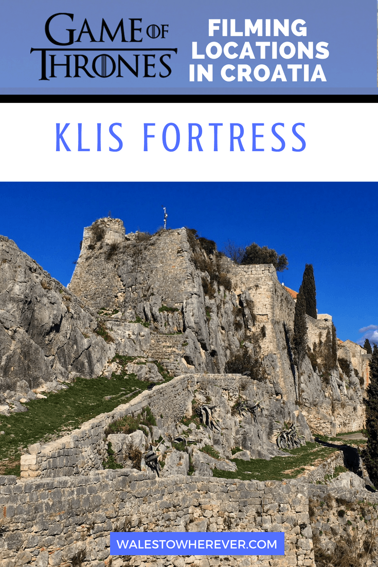 Croatia is full to bursting with amazing Game of Thrones filming locations, and Klis Fortress is one of them! Used to shoot scenes in the City of Meereen, Klis Fortress is an easy day trip from Split. This guide will tell you all about its history, how to get there and everything you need to know about visiting! #KlisFortress #Croatia #GameOfThrones #Split #Hrvatska #historicalplaces