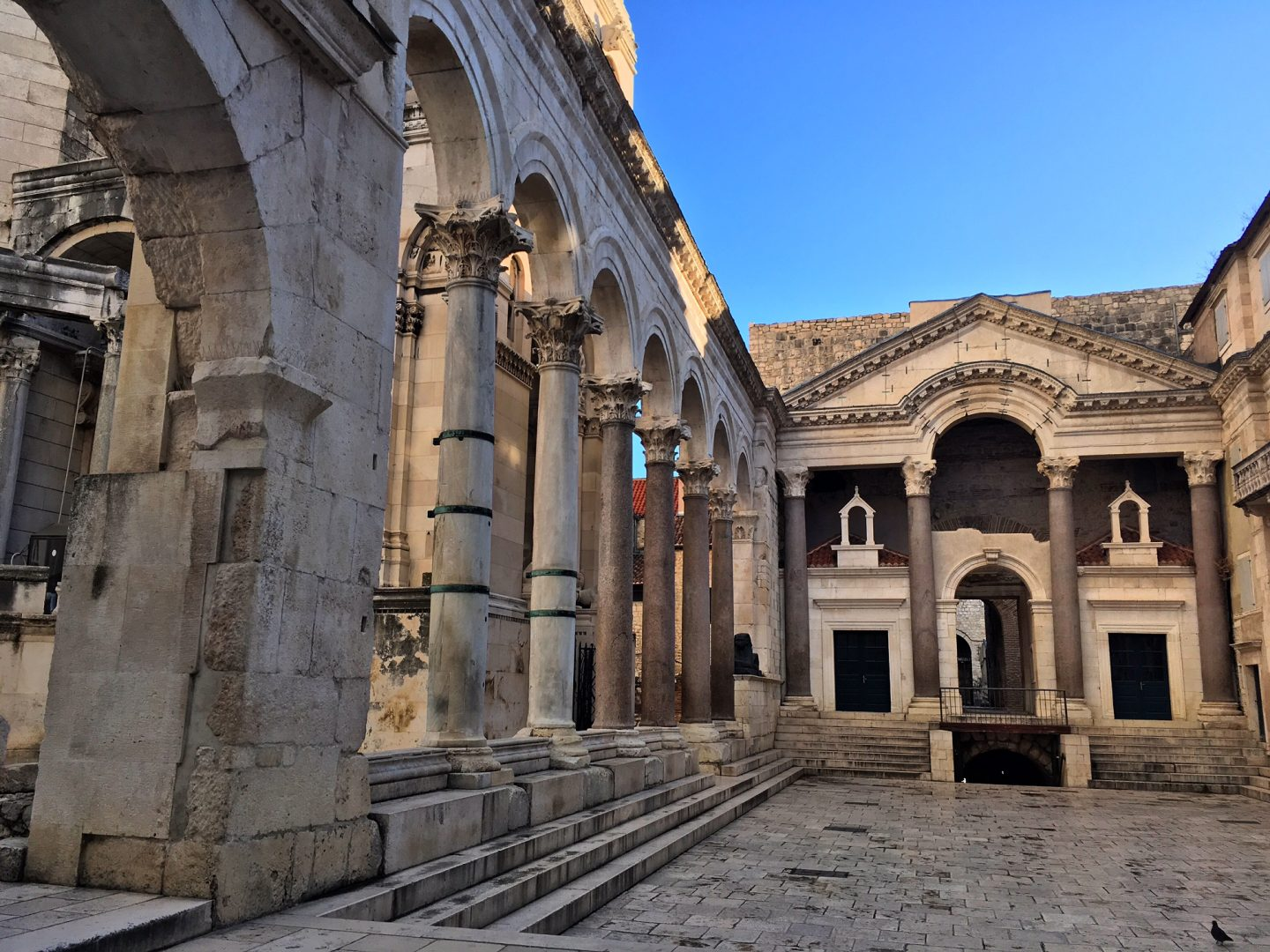 Exploring the Ancient Ruins of Diocletian's Palace