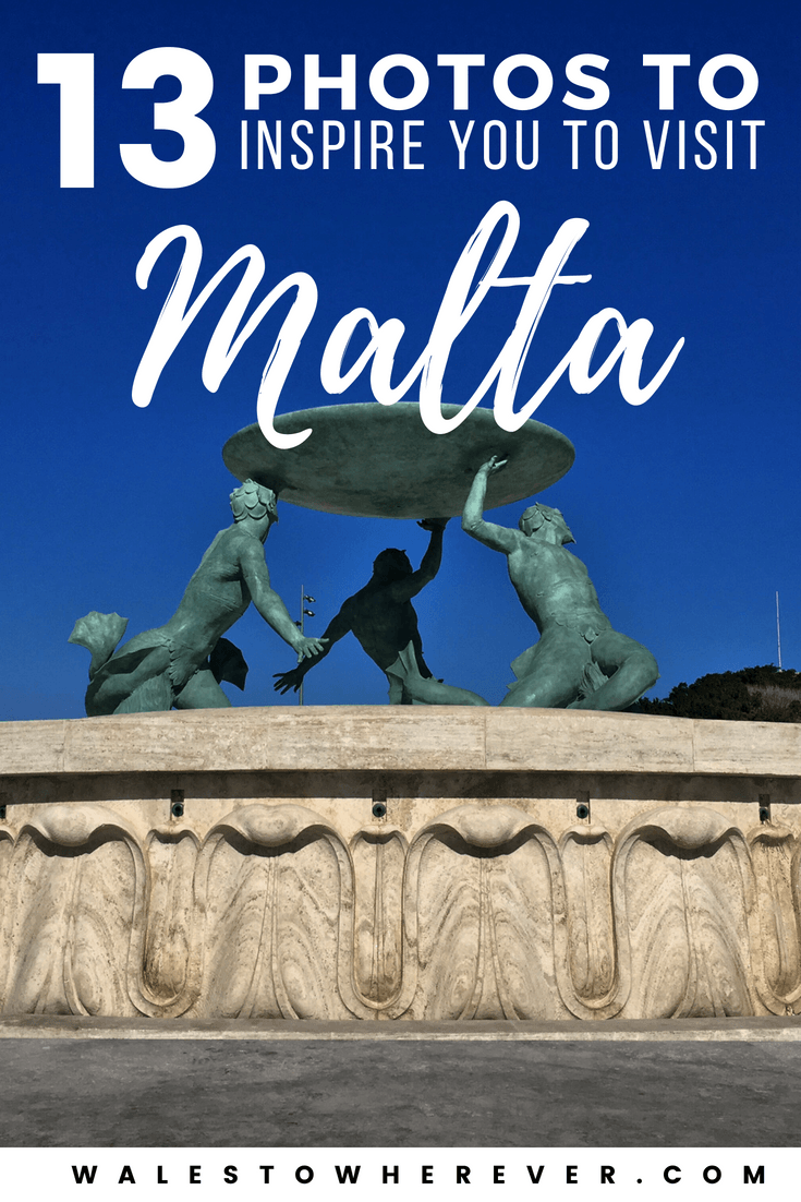 13 Photos to Inspire Your Trip to Malta - One of the smallest countries in Europe, Malta is packed with stunning scenery and beautiful views! Check out this article for 13 wanderlust-inducing photos of Malta that will have you booking your flight this weekend. #Malta #VisitMalta | Budget Europe | Malta on a budget | Popeye Village via @walestowherever