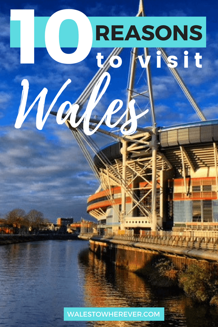 If Wales isn't on your bucket list yet, why not?! This tiny little country in the United Kingdom has so much to offer, and these 10 reasons might just persuade you to book a trip. #Wales #VisitWales #WalesTravelGuide #WelshTourism
