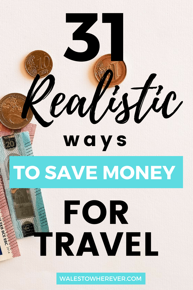 If you want to travel the world but are absolutely rubbish at saving money, these 31 easily actionable tips on how to save money to travel the world will help you save hundreds of pounds a month without even realising it!