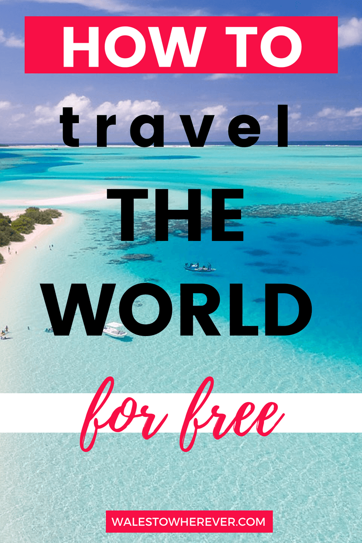 Do you want to travel the world but don't have millions in the bank? Read this article for 15 tips on how to travel the world without spending a single penny! via @walestowherever #budgettravel #freetravel #adventure #aroundtheworld | Travel the world for free | Budget travel | Travel the world on a shoestring |