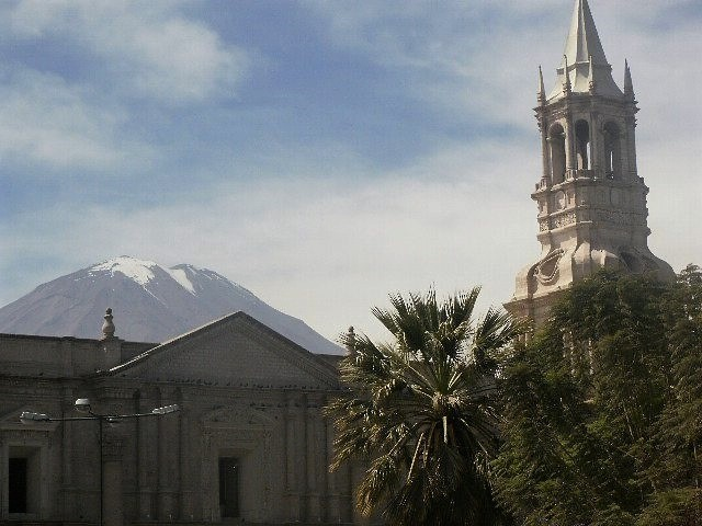 Arequipa is surrounded by 3 volcanoes, making it a must for any adrenaline junkie spending two weeks in Peru.