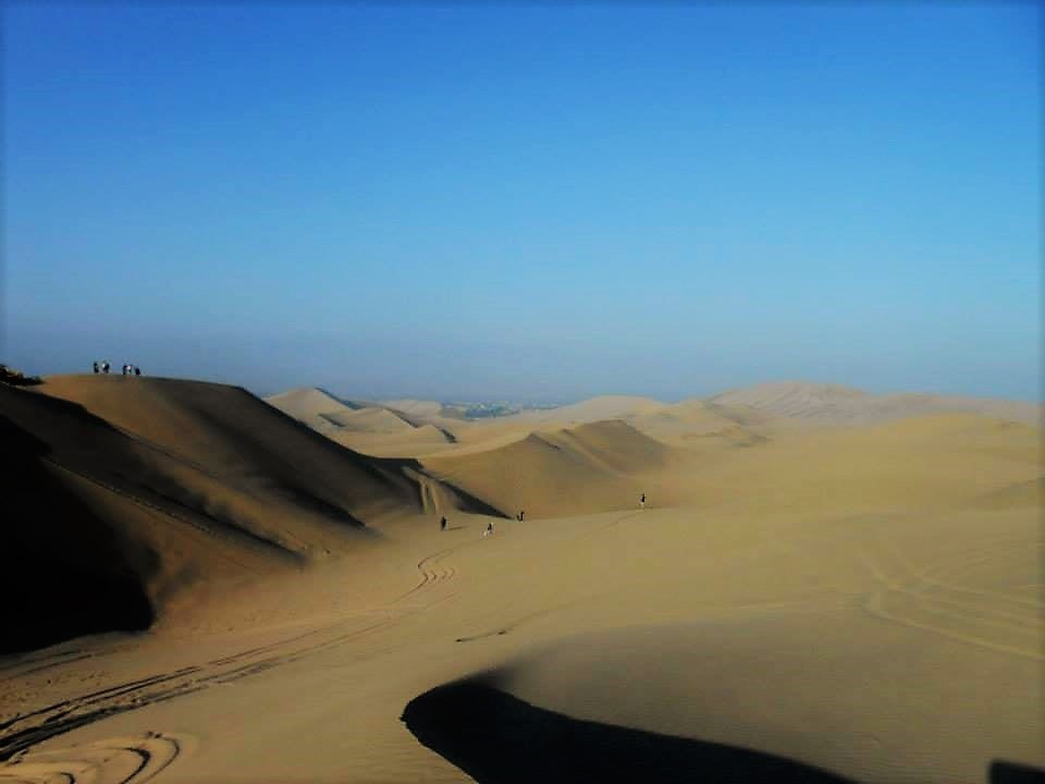 The never-ending sand dunes of Huacachina are a great stop during your trip to Peru