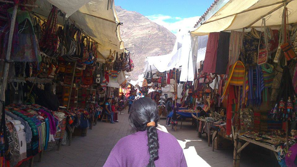 Pisac traditional market is one of the best things to do in the Sacred Valley