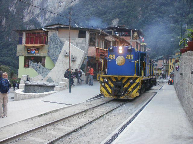 The best way to reach Aguas Calientes is by train from Ollantaytambo or Cusco