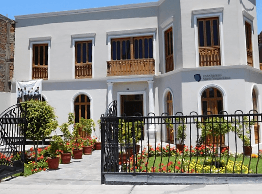 the front exterior of Casa Museo Mario Vargas Llosa, one of the best things to do in Arequipa