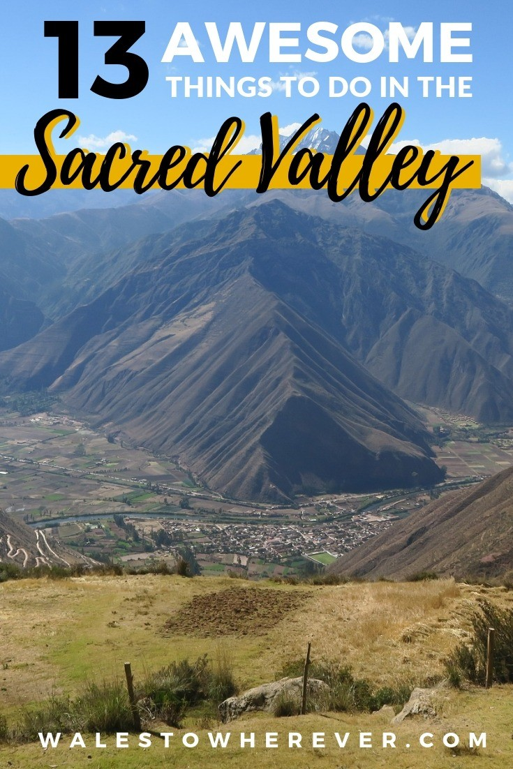 Planning a trip to Peru? Don't forget to spend a few days in the Sacred Valley of the Incas. This guide will tell you everything you need to know about the best things to do in the Sacred Valley of Peru, from cultural excursions to hair-raising adventure sports. #Peru #Perutravel