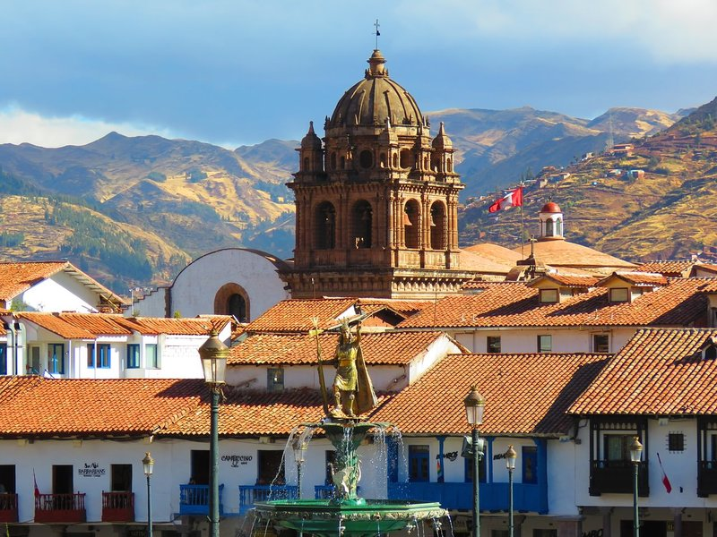 A few days spent among the orange-tinged rooves of Cusco will be one of the highlights of your two weeks in Peru